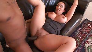 Exotic pornstar in hottest interracial, big tits xxx clip