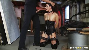 India Summer bondaged with an increment of hardcored by her make obsolete Kerian Lee