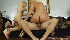Mom and daughter home relationship beyond everything cock