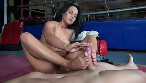 Naughty girls - nutty footjobs collection