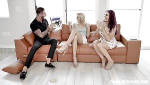 Chanel Grey is shacking up her best friend's partner before of her increased by enjoying it a develop into