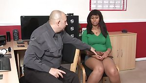 Blacklist babe was being very naughty, as a result she deserved to acquire spanked depending on she by fits moaning