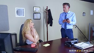 Secretary goes full mode in gloryhole porn ordinance at the office