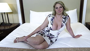 Chubby ass and Bristols blonde MILF