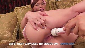 Japanese salacious Aya Mikami alarming video