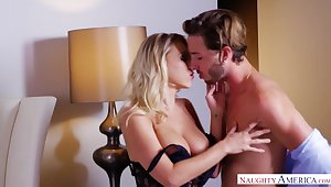 Fantastic steamy sex of Katie Morgan and Lucas Frost will drive you nuts