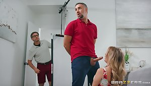 An Extra Buck with Keiran Lee and cheating tie the knot Linzee Ryder - sure thing hardcore